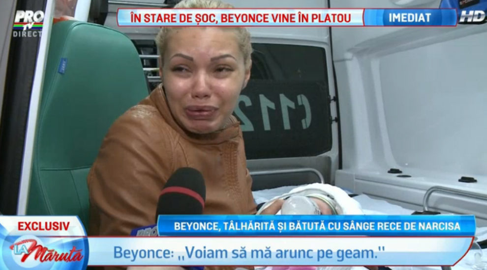 """Beyonce de Romania, talharita si batuta de Narcisa: """"Am vrut sa sar pe geam"""". Blonda e in stare de soc dupa atacul asupra ei"""