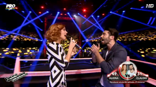 Aliona Munteanu vs. Claudiu Rusu - Say something