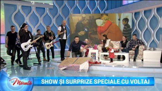 Show si surprize speciale cu Voltaj