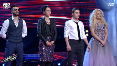 Surpriza de la Vocea Romaniei. Ei merg mai departe dupa primul show LIVE