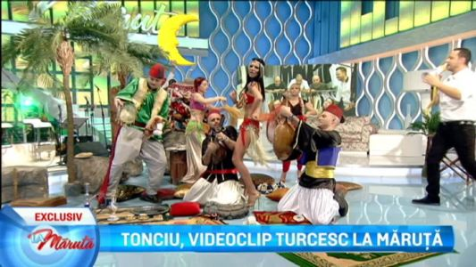 Tonciu, videoclip turcesc la Maruta
