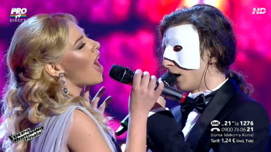 Tiberiu Albu si Irina Baiant - The phantom of the opera