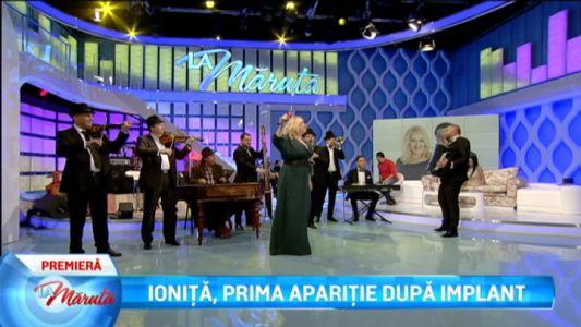 Ionita, prima aparitie dupa implant