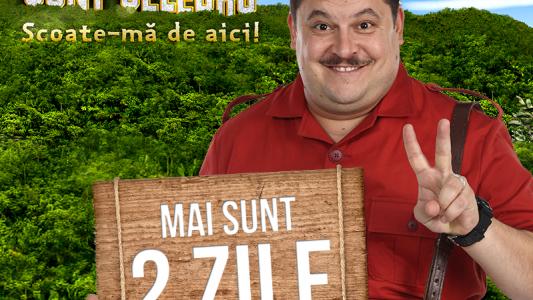 """AMR 2 zile! """"Sunt Celebru, Scoate-ma De Aici!"""", din 16 Februarie, ZILNIC, de la 20:30 la ProTV"""