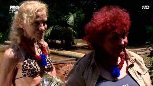 Elena Merisoreanu si Luminita Nicolescu, la prima proba in jungla