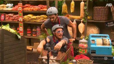 """Echipa de soc: Vladimir si Dorian au fost impreuna la cumparaturi de """"Black Friday"""". Cate stele au adus in tabara"""