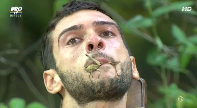 Dorian Popa, 4 din 4 la proba  Lacrimi si dinti . Artistul a izbucnit in lacrimi la finalul provocarii