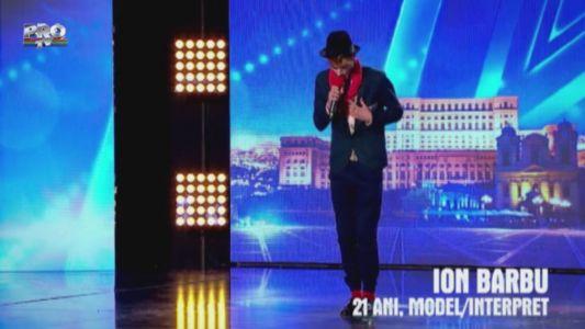 "Romanii au talent 2015: Ion Barbu - Interpreteaza piesa ""De dragul tau"" (Marcel Pavel)"