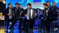 Atmosfera demna de  Romanii au talent . Ce au reusit ei sa faca cu acordeonul este incredibil!