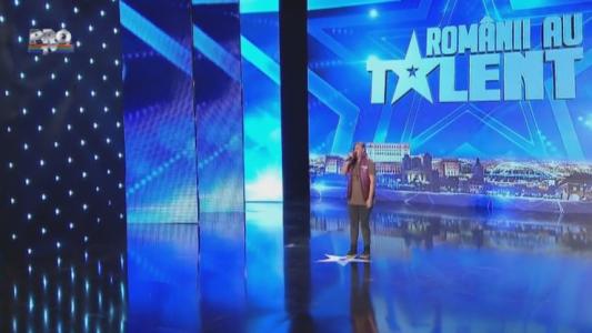 Romanii au talent 2015: Adina Florentina Coman - Interpretare hip-hop