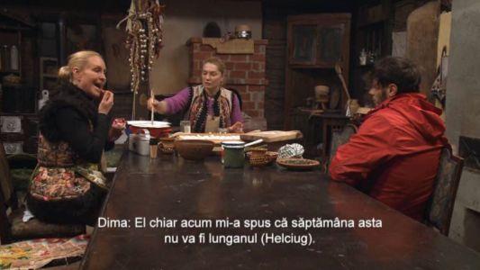 Vica Blochina si Dima Trofim, discutie strategica in limba rusa