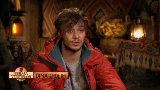 Lui Dima Trofim i se face rau in padure