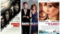 Filme de weekend: Vineri, 23:15- Politisti in Brooklyn, Sambata, 20:30- Intalnire cu surprize, Duminica, 20:30- Turistul