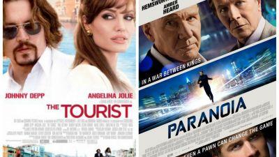 Cele mai tari filme se vad numai la PROTV! In aceasta seara de la 20:30 -  Turistul  si  Paranoia  - de la 22:30!