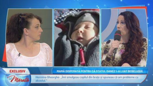Mama disperata pentru ca statul danez i-a luat bebelusul