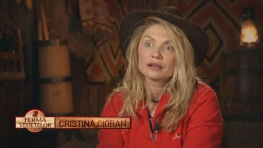 Cristina Cioran a primit o vizita-surpriza de la iubitul ei