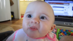 O sa razi cu siguranta! Cum reactioneaza un copil cand gusta avocado pentru prima oara! VIDEO