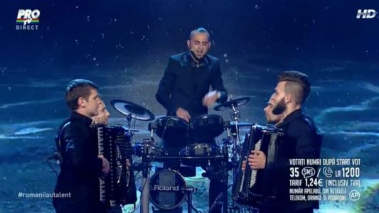 Romanii au talent 2015 - Finala: Concertino - Reprezentatie incendiara la acordeon