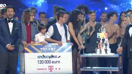 Romanii au talent 2015 - Finala: Grupul SpeedCubing a castigat premiul de 120 000 de Euro
