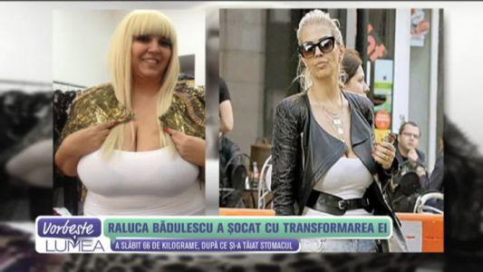 Raluca Badulescu a socat cu transformarea ei