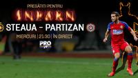 STEAUA ndash; PARTIZAN se vede in direct la PRO TV! Meci infernal pentru Mirel Radoi in Champions League!