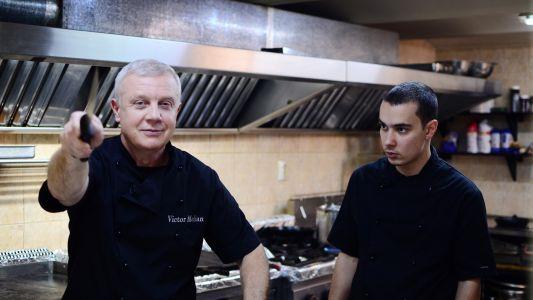 Chef Victor Melian a reusit sa salveze de la inchidere un restaurant pescaresc