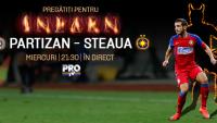 Steaua, da-ne nopti de Champions League! Cel mai greu meci din acest sezon al Stelei e miercuri, in direct, la PROTV!