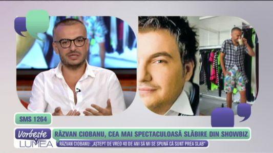Razvan Ciobanu, cea mai spectaculoasa slabire din showbiz