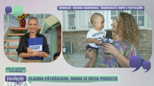 Claudia Patrascanu, mama si sotie perfecta