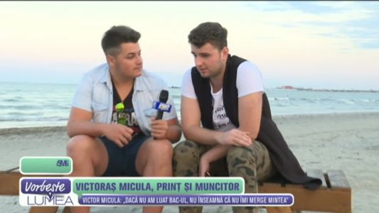 Victors Micula, print si muncitor