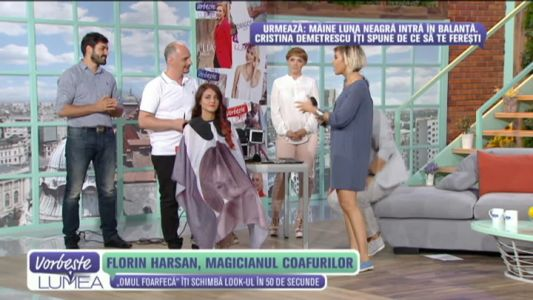 Florin Harsan, magicianul coafurilor