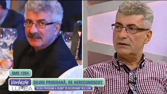 Silviu Prigoana, de nerecunoscut