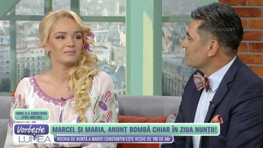 Maria si Marcel, anunt bomba chiar in ziua nuntii!