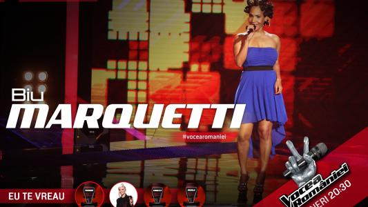 Vocea Romaniei - sezonul 5: Biu Marquetti - Solo Se Vive Una Vez