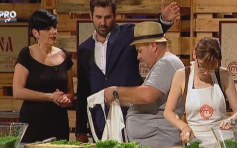 Nea Marin:  Simt ca imi explodeaza inima . Discutii in contradictoriu intre concurent si Chef Patrizia!