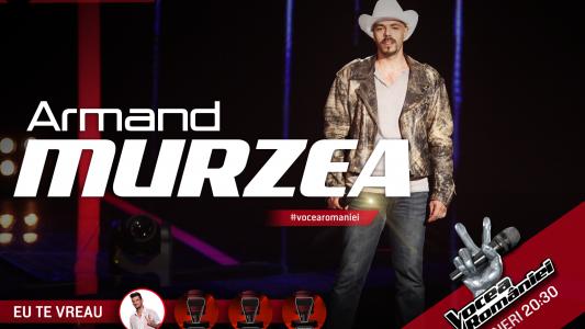 Vocea Romaniei - sezonul 5: Armand Murzea - Your Man