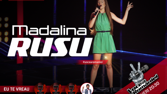 Vocea Romaniei - sezonul 5: Madalina Rusu - Proud Mary