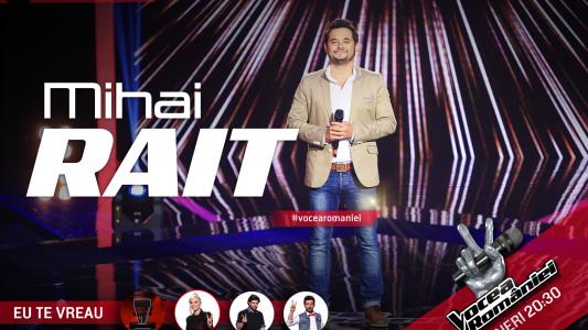 Vocea Romaniei - sezonul 5: Mihai Rait Dragomir - Zaraza