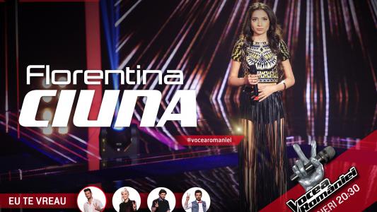 Vocea Romaniei - sezonul 5: Florentina Ciuna - Fallin'