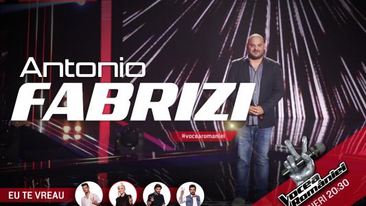 Vocea Romaniei - sezonul 5: Antonio Fabrizi - Caruso