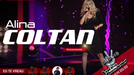 Vocea Romaniei - sezonul 5: Alina Coltan - Empire State of Mind