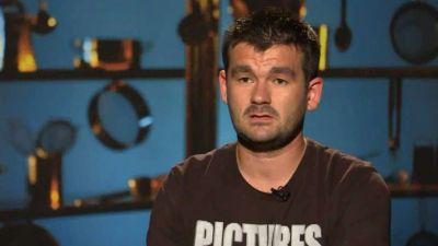 Serghei este cel de-al treilea concurent care paraseste bucataria Masterchef