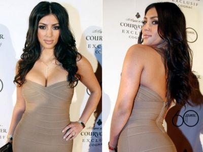 Kim Kardashian, pe vremea cand era slaba. Cum arata in 2006 fara celebrul ei posterior bombat