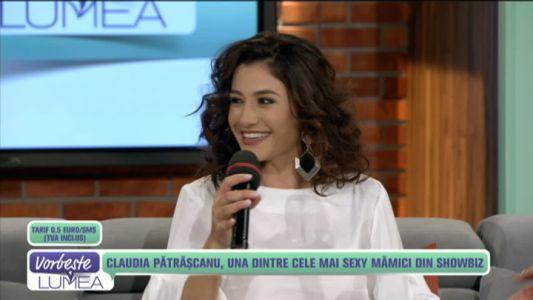 Claudia Patrascanu, una dintre cele mai sexy mamici din showbiz