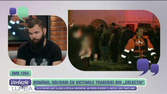 Romanii, solidari cu victimele tragediei din Colectiv