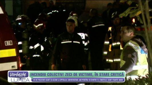 Incendiu Colectiv! Zeci de victime, in stare critica