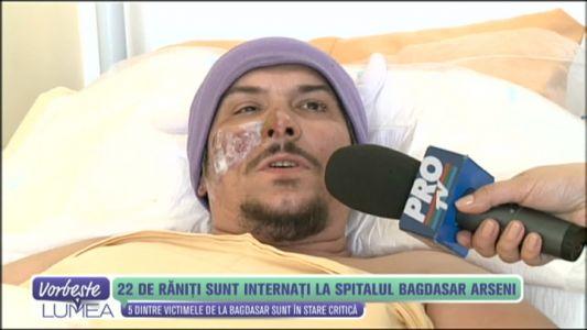 "22 de raniti sunt internati la Spitalul ""Bagdasar Arseni"""