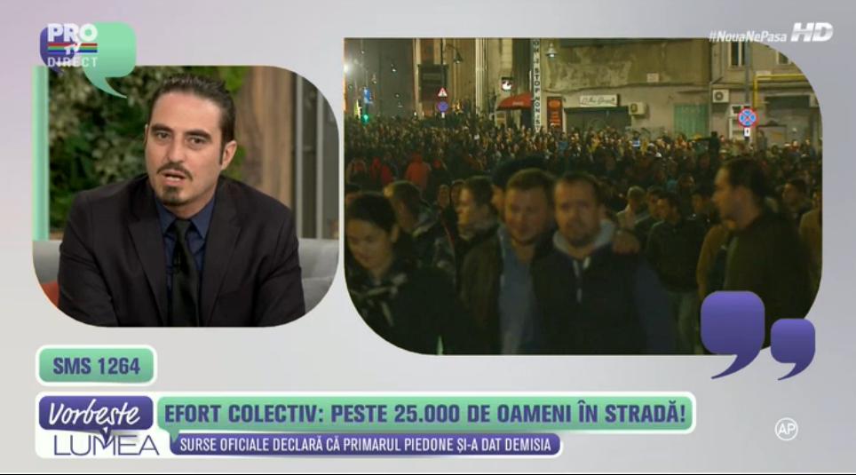 Popescu Piedone si-a dat demisia dupa ce s-a baricadat toata dimineata in fata presei