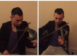 Remus Stana, romanul care a facut senzatie pe strazile din Scotia cu vioara lui, revine cu o noua piesa - VIDEO