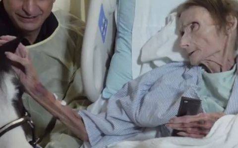 Ultima dorinta a unei batrane bolnave de cancer a emotionat pana la lacrimi. Povestea ei e cu adevarat speciala